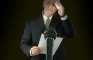 Overcome speaking jitters