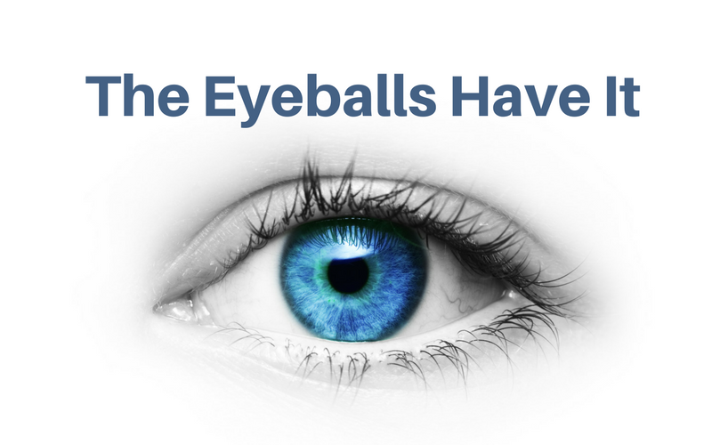 The Eyeballs Have It! Seeing with the mind's eye.